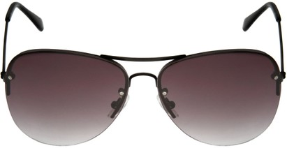 Image #4 of Women's and Men's SW Rimless Aviator Style #89