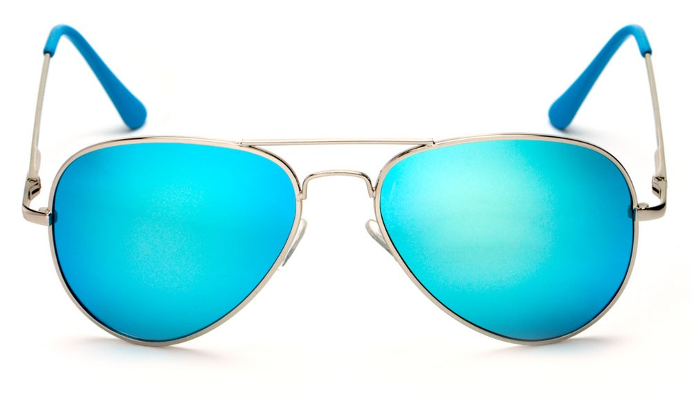 polarized mirrored aviator sunglasses  Colorful Mirrored Aviator Sunglasses