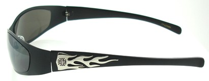 Sunglasses with Flames Design
