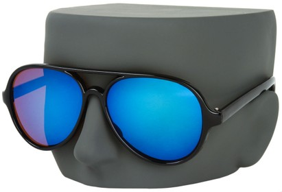 Oversized Mirrored Aviators