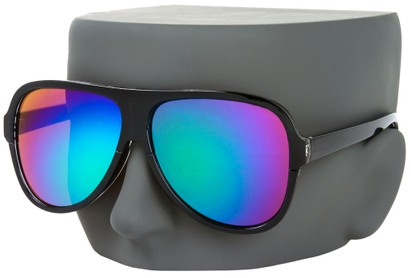Image #3 of Women's and Men's SW Mirrored Aviator Style #1760