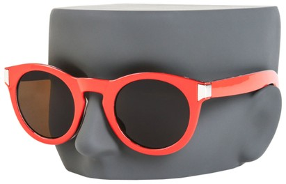Round Thick Plastic Sunglasses