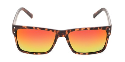 colorfully mirrored lens square shades