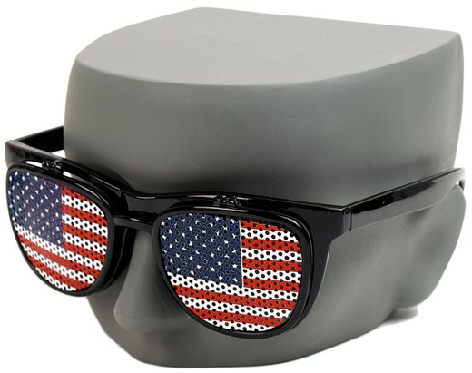 American Flag Flip Up Sunglasses