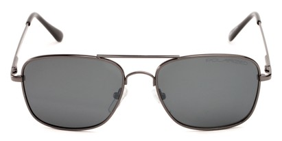 metal polarized aviator