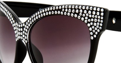 Image #4 of Women's and Men's SW Rhinestone Cat Eye Style #2205
