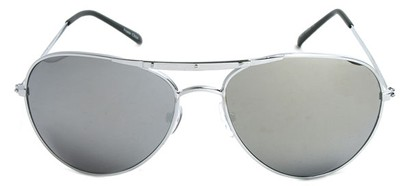 Image #1 of Women's and Men's SW Mirrored Aviator Style #8838