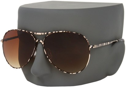 Image #3 of Women's and Men's SW Animal Print Aviator Style #1237