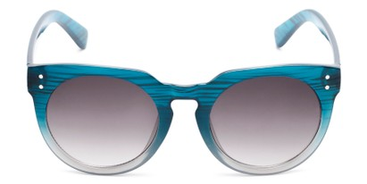 Front of Addison #32032 in Blue Faded Frame with Smoke Lenses