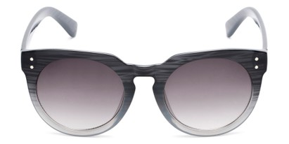 Front of Addison #32032 in Black Faded Frame with Smoke Lenses