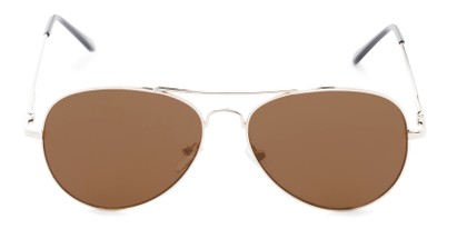 Front of Admiral #490 in Gold Frame with Brown Lenses