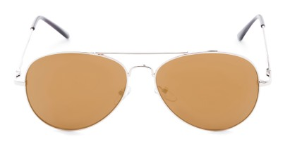 Front of Admiral #490 in Gold Frame with Mirrored Lenses
