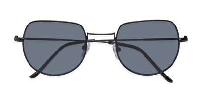 Folded of Aldo #7093 in Black Frame with Grey Lenses