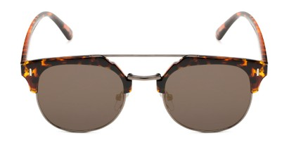 Front of Anaheim #7080 in Tortoise/Gold Frame with Gold Lenses