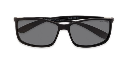 Folded of Aruba in Black Frame with Grey Lenses