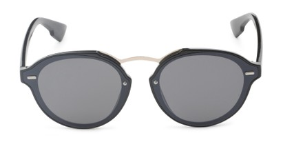 Front of Augusta #5155 in Black Frame with Grey Lenses