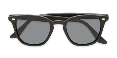 Folded of Backpacker #16391 in Matte Black Frame with Smoke Lenses