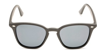 Front of Backpacker #16391 in Matte Black Frame with Smoke Lenses
