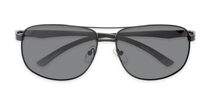 Folded of Baltic #8503 in Black Frame with Grey Lenses