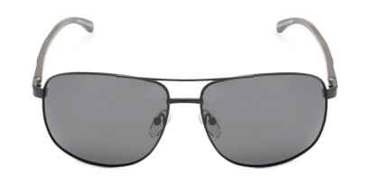 Front of Baltic #8503 in Black Frame with Grey Lenses
