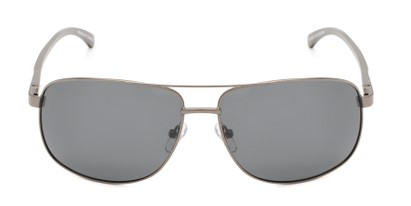 Front of Baltic #8503 in Grey Frame with Grey Lenses