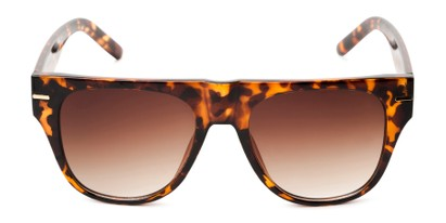 Front of Bayswater #9097 in Tortoise Frame with Amber Gradient Lenses