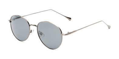 b18df7fb9c10 Angle of Bedford #30202 in Grey Frame with Smoke Lenses, Women's and Men's  Round