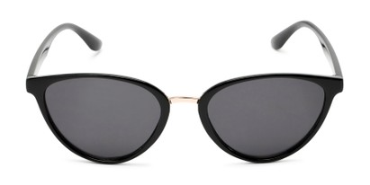 Front of Berkley #16280 in Black Frame with Grey Lenses