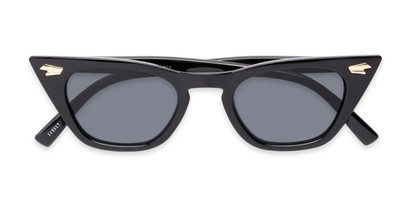 Folded of Blanca #71019 in Black Frame with Grey Lenses