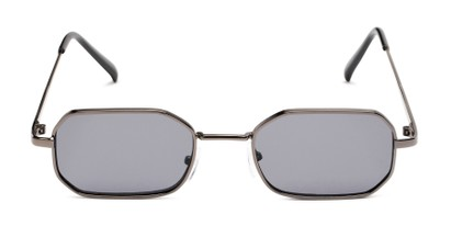Front of Boyd #3155 in Grey Frame with Smoke Lenses