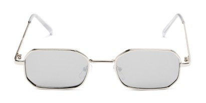 Front of Boyd #3155 in Silver Frame with Smoke Lenses