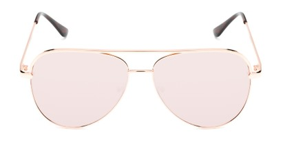 Front of Breaker #3218 in Rose Gold Frame with Rose Gold Lenses