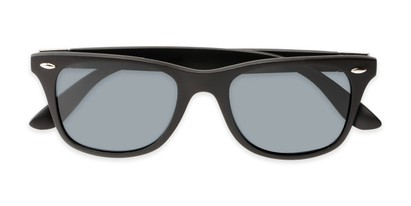 Folded of Castle Rock #28031 in Matte Black with Smoke Lenses