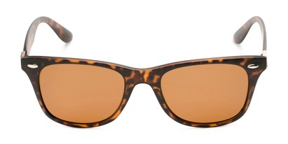 Front of Castle Rock #28031 in Matte Tortoise with Amber Lenses