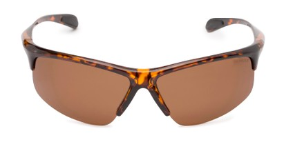 Front of Colt #9821 in Tortoise Frame with Brown Lenses