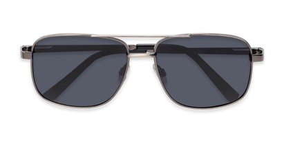 Folded of Commander #2168 in Grey Frame with Grey Lenses