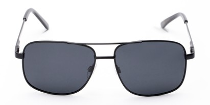 Front of Commander #2168 in Black Frame with Grey Lenses
