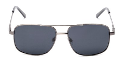 Front of Commander #2168 in Grey Frame with Grey Lenses