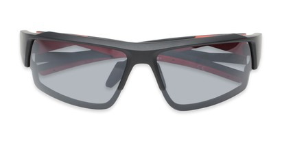Folded of Corner by IRONMAN Triathlon in Matte Black/Red Frame with Smoke Lenses
