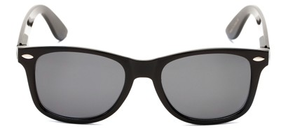 Front of Cove #9966 in Black Frame with Grey Lenses
