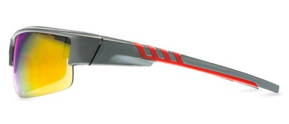 Sport Sunglasses with Mirrored Lenses