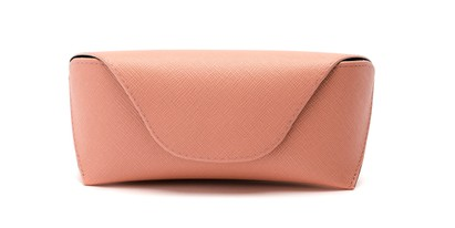 pastel leather sunglasses case
