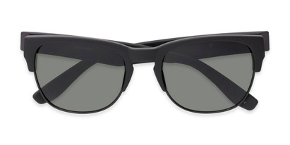 Folded of Dallas #54101 in Black Frame with Green Lenses