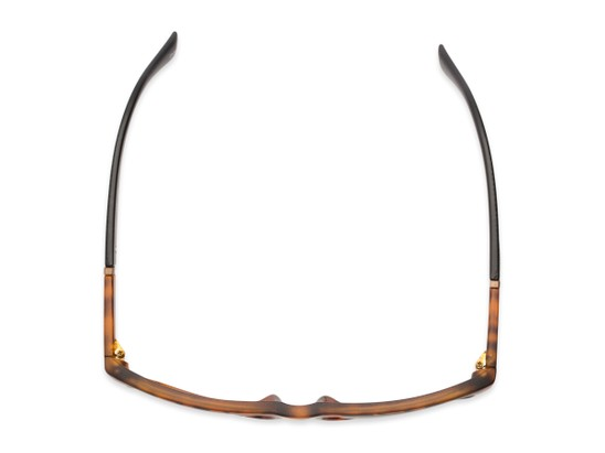 Overhead of Dillon #2776 in Matte Tortoise Frame with Grey Lenses
