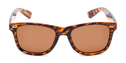 Front of Drifter #540432 in Tortoise Frame with Amber Lenses