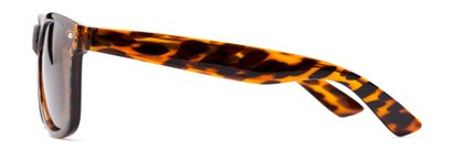 Side of Drifter #540432 in Tortoise Frame with Amber Lenses