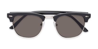 Folded of Eastland #54094 in Black Frame with Grey Lenses