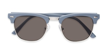 Folded of Eastland #54094 in Light Blue Frame with Grey Lenses