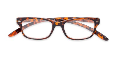 Folded of Easton by Foster Grant in Brown Tortoise Frame with Smoke Gradient Lenses