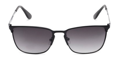 Front of Ellis #25049 in Matte Black Frame with Smoke Lenses